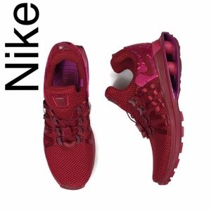 Nike Shox Gravity NEW in Red Crush floral accent
